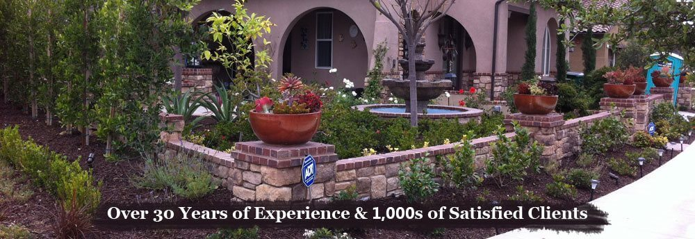 Landscaping orange county ca drought tolerant for Drought tolerant front garden designs