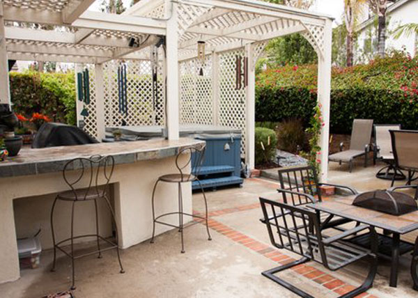 Barbeque & Countertop Installation